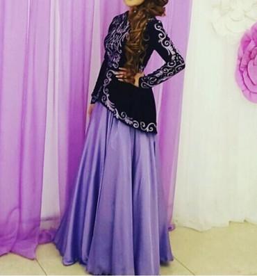 длинные вечерние платья с длинным рукавом в Кыргызстан: Продаю свое платье на кыз узатуу (заказывала у Айпери Обозовой), после