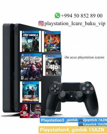 avtomoyka icarəsi - Azərbaycan: Playstation icarəsi BİZDƏ