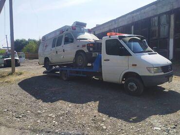 длинное платье с вырезом на ноге в Кыргызстан: Эвакуатор | С ломаной платформой Токтогул