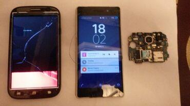 Samsung-i9500 - Азербайджан: На запчасти Samsung I9500 Galaxy S4 16 ГБ Черный