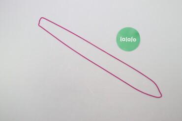 Шнурок фіолетовий   Довжина: 59 см  Стан гарний