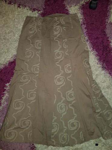 Pantalone boja maslinasto zelena kvalitetne super meka - Srbija: Suknja boja braon, maslinasto zelena