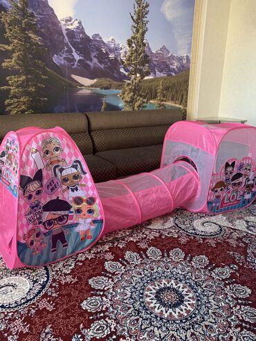 палатки бишкек in Кыргызстан | ПАЛАТКИ: Палатка детская,почти новая