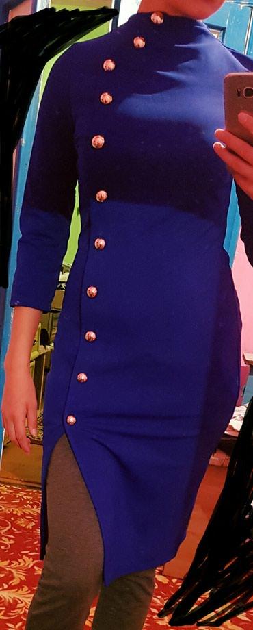 Размер 44 красивый цвет. платье по фигурке сидит классно в Бишкек