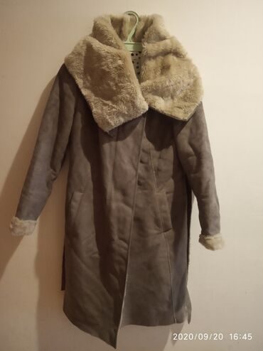 Paltolar - Azərbaycan: Palto Promod firmasidir.S ölçülü.100azn.Geyilib yaxşi veziyyetdedir