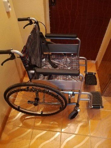 Детская-инвалидная-коляска - Кыргызстан: Инвалидная коляска. Новая. Продаю. Российского производство. Гарантия