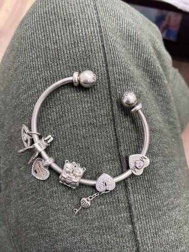 Продаю серебряный браслет от Пандоры (оригинал) проба 925 покупали дор