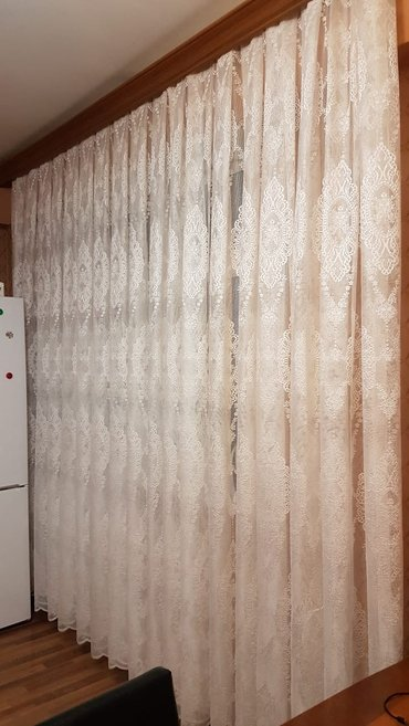 Bakı şəhərində Gupur tul perde satilir yenidir olculer eni 5 metrdi  3 metreliy