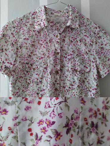 Nova H&M košulja, kratkih rukava, obučena samo jednom. Super za