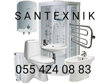 80cc motor - Azərbaycan: Santexnik | Pitiminutkaların quraşdırılması, Kombi, radiatorların quraşdırılması