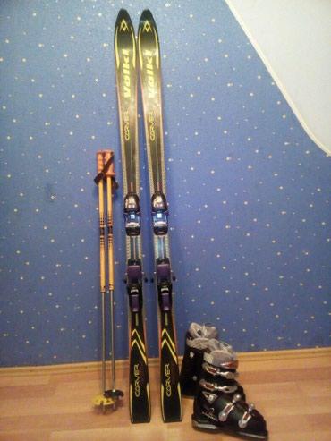 Продаю горнолыжный комплект, б/у., в в Бишкек