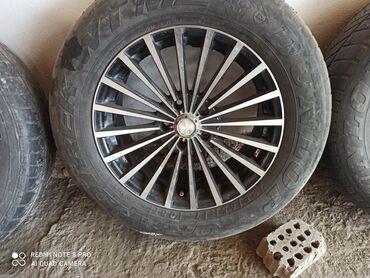 шина 16570 r13 в Кыргызстан: Срочно продам диски R 17 с шиной, торг уместен