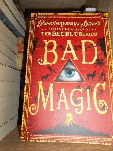 Bad Magic - Pseudonymous Bosch knjiga. Avantura, fantazija za decu na - Belgrade