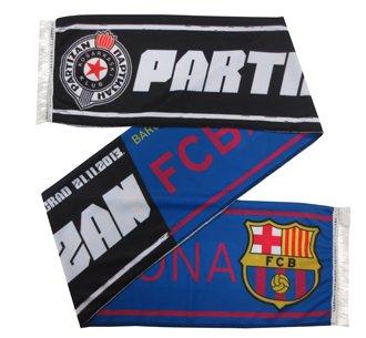 Partizan kacket - Srbija: Sal partizan barselona