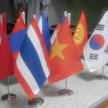 изготовление любых флагов, любых стран. можно по вашим эскизам с в Бишкек