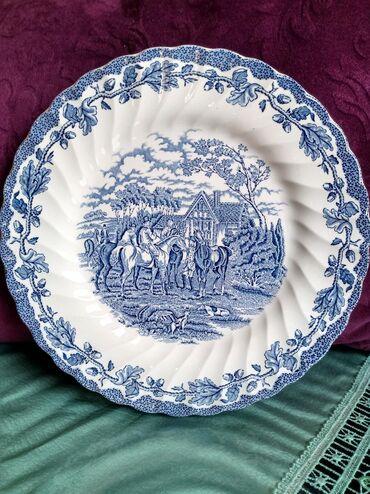 Engleski porcelan nov tanjir. precnik. 26cm