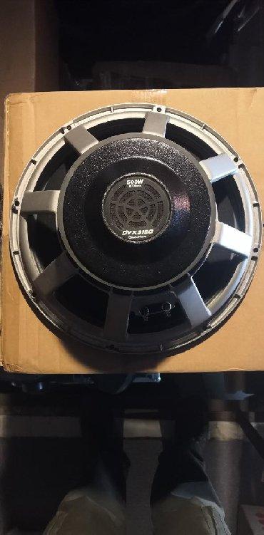 """8 пик в Кыргызстан: Продаю Electro-Voice DVX 3150 15"""" 8 Ом. 500Вт./ 2000Вт. в пике"""