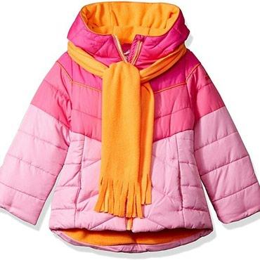 Шикарная тёплая и лёгкая куртка. Производство США. Возраст 4-5-6 лет. в Бишкек