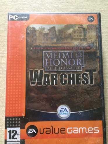 Original igrica za pc medal of honor warchest komplet od 4 cd-a. - Plandište