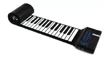 гибкое пианино в Кыргызстан: Гибкое новое пианино Solozar на 61клавтшу. В комплекте сумка для