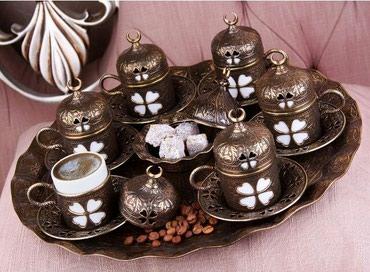 Продаю турецкий кофейный сервиз 6 в Бишкек