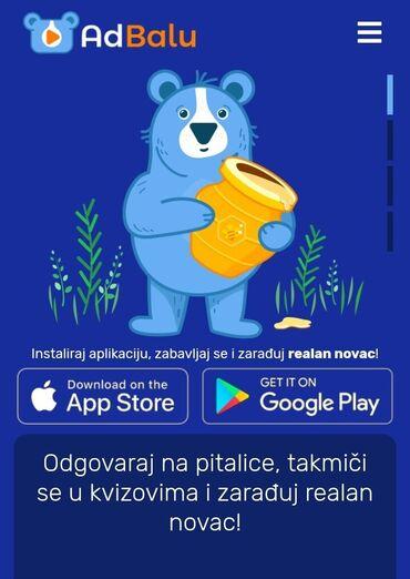 524 oglasa: Zaradi novac uz AdBalu aplikaciju!Preuzmi besplatno aplikaciju AdBalu