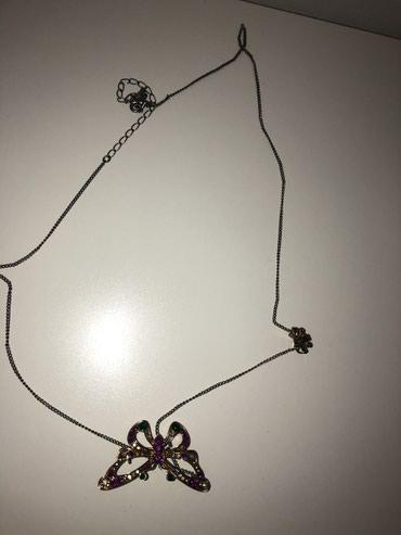 Ogrlica duga i moze leptir kao bros da se koristi - Novi Pazar