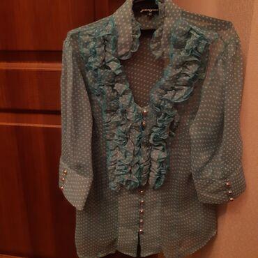 Продаю летние женские блузки, бу, размер 44-46. Почти новые