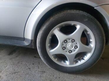 Диск и шины (зимний) 4 штук   Мерс