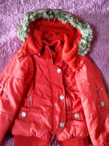 Куртка в хор. сост, утеплённая флисом на 5-6 лет. в Бишкек