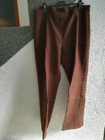 Obim-grudcm-duzina-cm - Srbija: Pantalone za zimu, puniji materijal, obim struka 90 cm, obim kukova