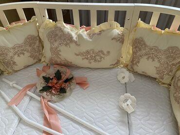 кровать трансформер детская купить в Кыргызстан: Детская коечка с маитником трансформер есть дополнительные материалы и
