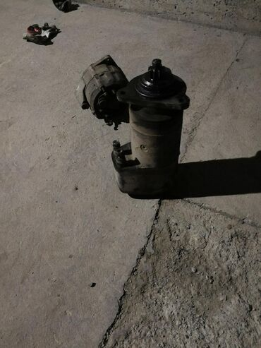 Продажа рефрижераторов бу - Кыргызстан: Продаю стартер и генератор БУ от машины Ман