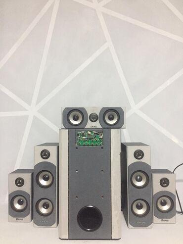 акустические системы omega мощные в Кыргызстан: Продаётся домашний савбуфер акустика gra.ve. 5/1. работает мощно обмен