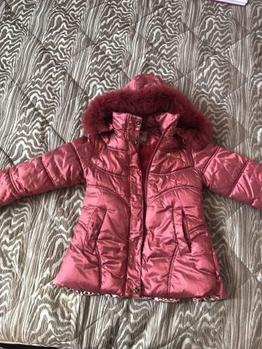 Очень теплая, зимняя куртка на рост 100-110 в Бишкек
