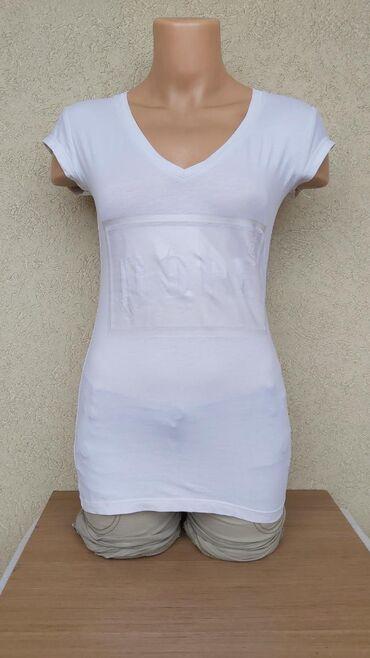 Bela pamucna majicaPamuk/elastinDuzina 62cmGrudi 35-44cmRamena
