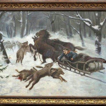 Картина антиквариат  в Бишкек