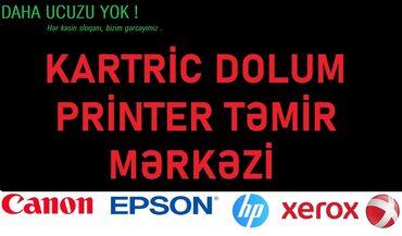 Texnikanın təmiri - Azərbaycan: Təmir | Printerlər, ofis texnikası | Evə gəlməklə
