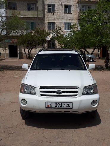 Автомобили - Чолпон-Ата: Toyota Highlander 3 л. 2002 | 178000 км