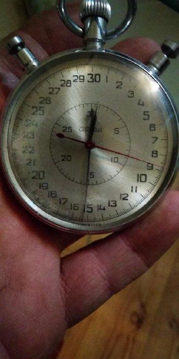 Секундамер советский . Большой три положение секунды в Govsany