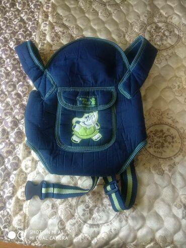 Детский мир - Манас: Продам рюкзак-кенгуру для ребёнка. Почти не пользовались. Бала