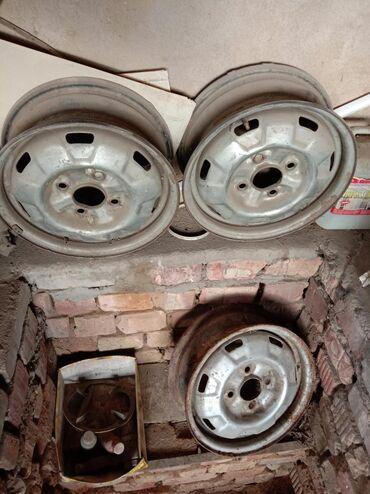 r14 диски 4 в Кыргызстан: R14 диски железные 4 шт от Ниссан примера