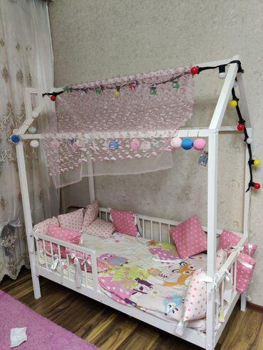 кровать трансформер детская купить в Кыргызстан: Продаю детскую кроватку,новая