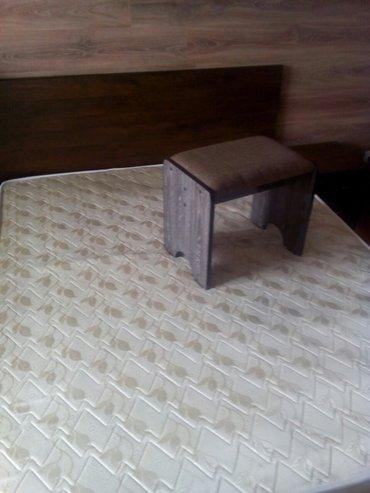Кровать. 1. 60*1. 90. две прикроватные в Бишкек