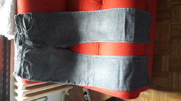 """Farm-broj - Srbija: """"Armani Jeans J45"""", broj W31 L34 (slim fit), sivi dzins, original"""