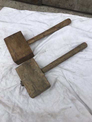 Продаю б/у молотки деревянные (киянки) 2шт. -250 сом в Лебединовка