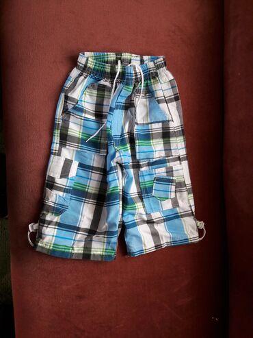 Guess-jeans-karirane-pamuk - Srbija: KAO NOVE karirane bermude za dečaka vel 8  KAO NOVE bermude vel 8 / 12