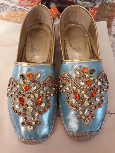 vasitcisiz ikiotaqli mnzil almaq - Azərbaycan: Очень красивые женские туфли 40 размера,б/у (2 раза,как