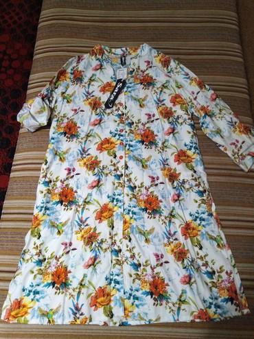 Рубашки и блузы - Кок-Ой: Красивейшая новая рубашка-туничка. качество высшее!!! Индия