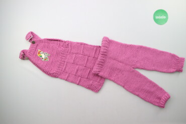 Дитячий в'язаний костюм (сарафан та штани)    Сарафан  Довжина: 55 см